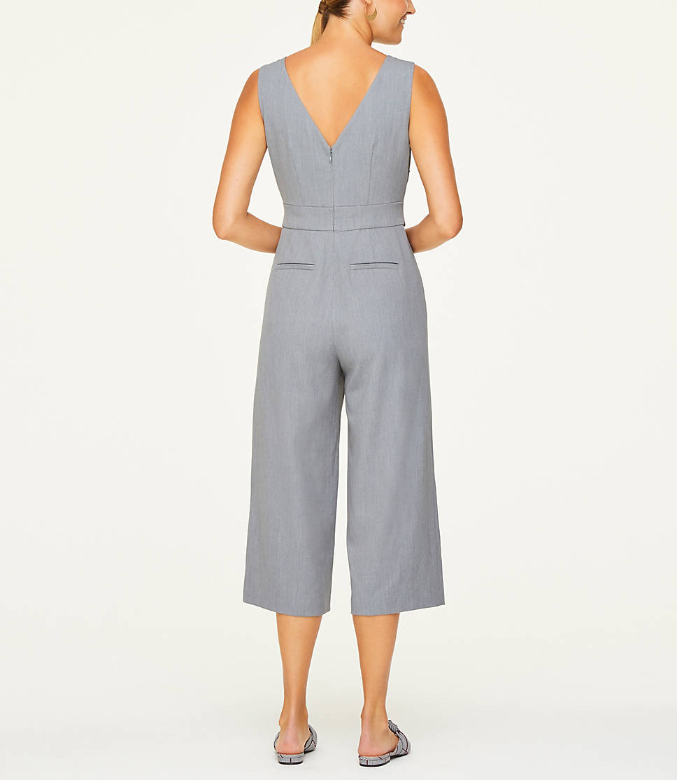 on feet images of outlet website for discount Petite Boatneck Jumpsuit