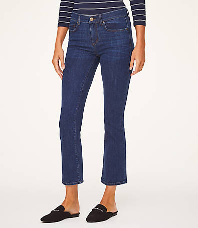 LOFT Demi Boot Jeans in Indigo