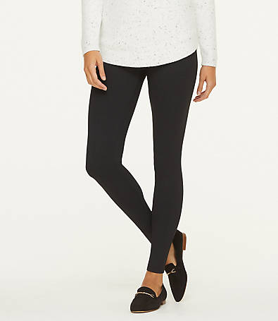 LOFT Geo Ponte Leggings