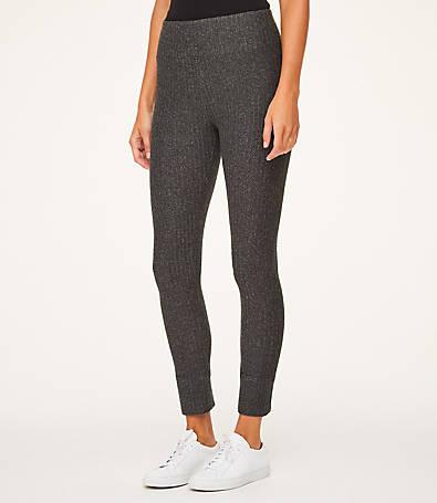 LOFT Chevron Skinny Sweatpants