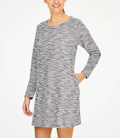 LOFT Tweed Pocket Dress
