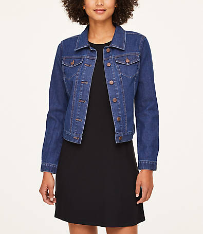 LOFT Petite Denim Jacket
