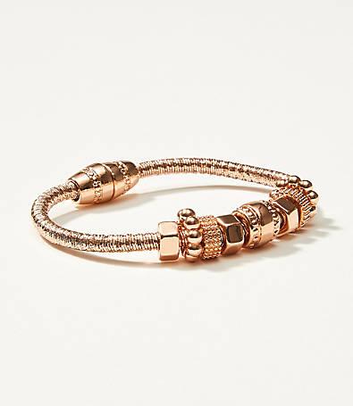 LOFT Metallic Charm Bracelet