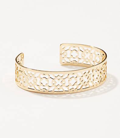 LOFT Filigree Cuff Bracelet