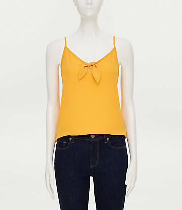 LOFT OUTLET: KNOTTED CAMI $6.22