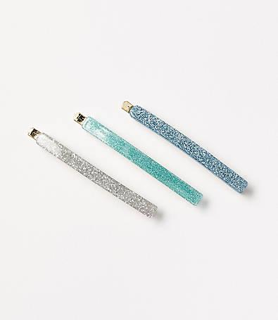 LOFT Glitter Pin Set